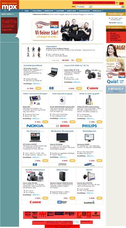 Nettbutikken MPX